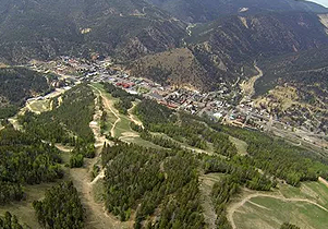 View of Town from Above