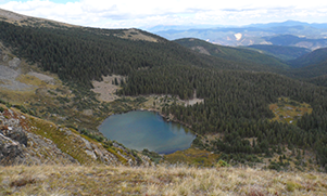 View of Goose Lake